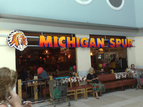 Michigan Spur Longbeach Mall