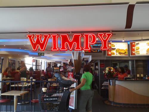 Wimpy Longbeach Mall